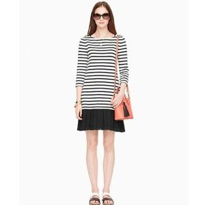 ♠️ Kate Spade Broome Street Striped Eyelet Dress
